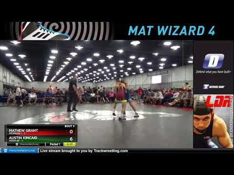 Mat 6 138 Mathew Grant Michigan 1 Vs Austin Kincaid Missouri
