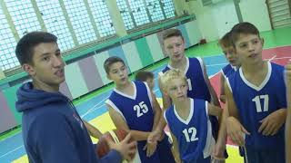 "Opening of the basketball court in the camp ""Gornyi"""