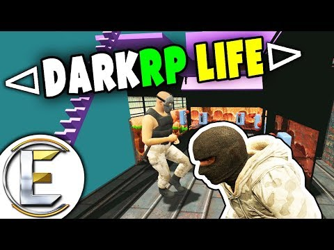 Garrys Mod - Mega Hard To Reach Base - GMOD DarkRP Life EP 17 (Raid The Biggest Base On The Server)
