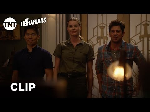 The Librarians: Where Do We Go from Here? - Season 4, Ep. 9 [CLIP] | TNT