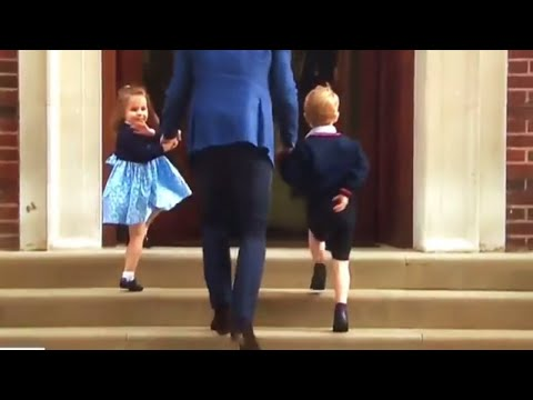 Watch As Princess Charlotte Of Cambridge Perfects Her Royal Wave