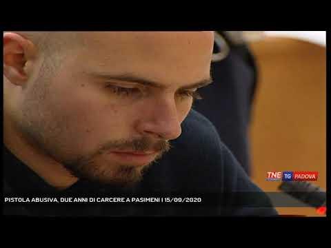 PISTOLA ABUSIVA, DUE ANNI DI CARCERE A PASIMENI | 15/09/2020