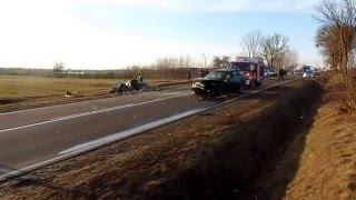 Film do artykułu: Grajewo - Ruda: Wypadek...