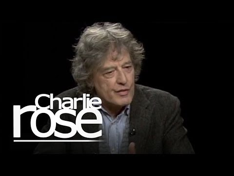 Stoppard - Playwright Tom Stoppard explains how a dramatist controls the intormation in a story between the stage and the audience.