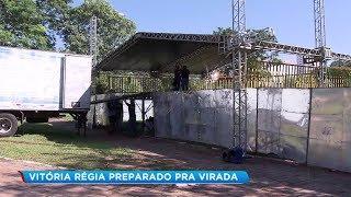 Parque Vitória Régia recebe festa da virada em Bauru