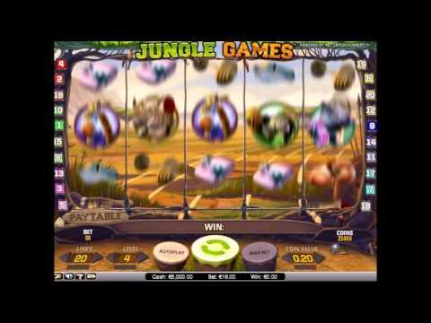 Интернет казино Вулкан Удачи представляет игровой автомат Jungle Games