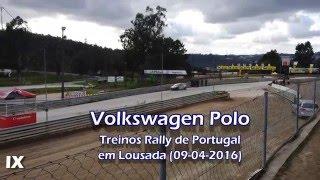 Lousada Portugal  city pictures gallery : Volkswagen Polo, Treinos Rallycross em Lousada, Portugal