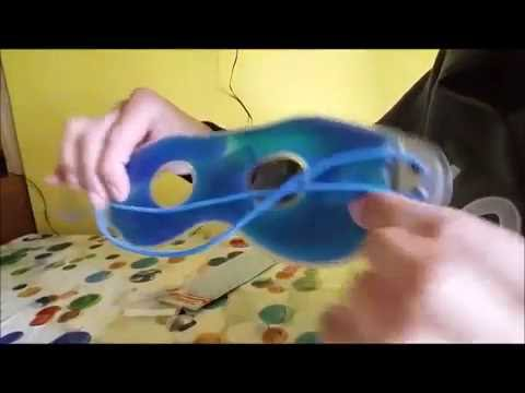 M&H-24 Maschera oculare con gel Amazon recensione review