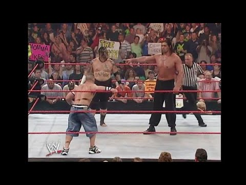 Wwe great khali vs john chena vs umaga full match