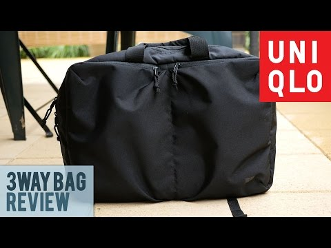 Uniqlo 3Way Bag Review