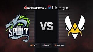 [RU] Spirit vs Vitality | Map 1 – Mirage | StarSeries i-League Season 7