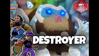 MAMOSWINE ON A KILL STREAK IN POKEMON SWORD AND SHIELD!!! by Thunder Blunder 777