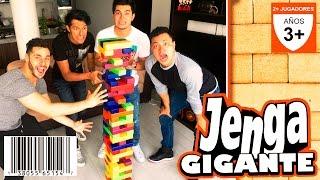 ► Jenga Gigante EXTREMO | Luisito Rey y Los Polinesios