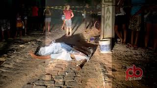 Um morto, e dois feridos ao lado do Terminal Rodoviário em Sousa
