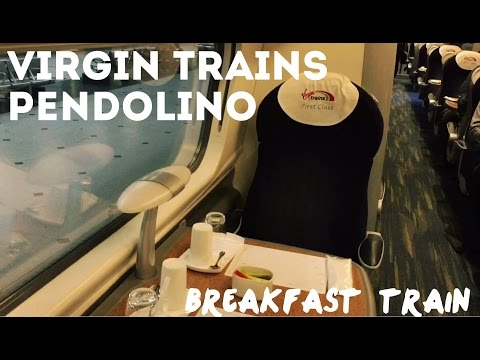Virgin Trains First Class, Pendolino, EUS-BHM