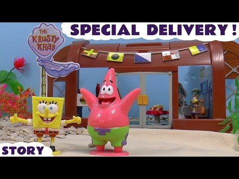 Spongebob Squarepants Krusty Krab Surprise Eggs | Play Doh Angry Birds Inside Out Disney and Kinder