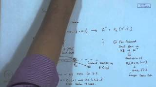 Mod-01 Lec-35 Reaction Dynamics : Scattering (Contd.)