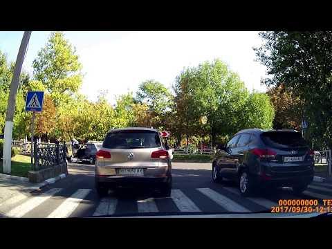 Авария с велосипедистом в Херсоне