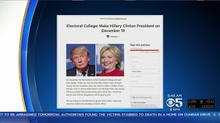 Following last week's election of Donald Trump, Hillary Clinton supporters have launched a petition urging Electors of the ...
