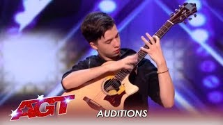 Marcin Patrzalek: Polish Guitarist MURDERS His Guitar! WOW! | America's Got Talent 2019