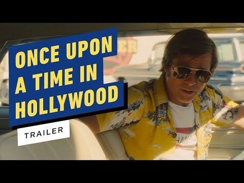 Once Upon a Time in Hollywood Trailer (2019) Leonardo DiCaprio, Brad Pitt