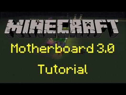 Minecraft - Cow Breeding Machine Tutorial [Motherboard 3.0]