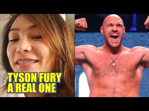 Michelle Waterson On Why Tyson Fury Is Her Favorite Boxer Right Now