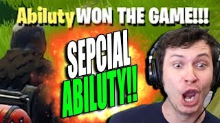 FORTNITE - SPECIAL ABILUTY!!!