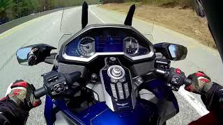 5. A Harley Rider Rides a New 2018 Goldwing DCT