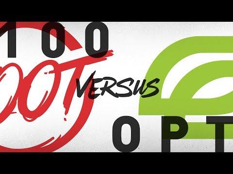 100 vs. OPT - Week 9 Day 2   NA LCS Summer Split   100 Thieves vs. OpTic Gaming (2018) (видео)