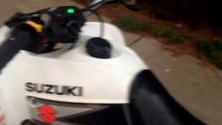 9. 2004 suzuki ltz-250 quadsport walk around and cold start