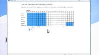 Windows 7 - Compte Utilisateur - Configurer le controle parental