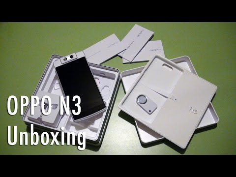 Oppo N3 unboxing