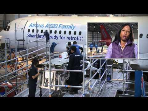 Airbus' Sharklets: Ready for retrofit