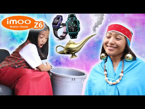 MAMA RATU JIN DAN EMBER AJAIB | Drama Komedi Imoo Watch Phone Z6 | Victory Kids TV