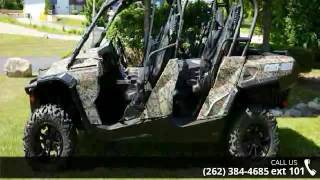 10. 2015 Can-Am Commander MAX XT 1000 Camo  - Action Power Sp...