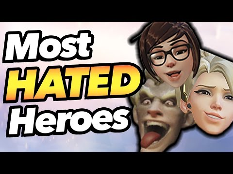 Top 5 Most Hated Heroes in Overwatch (видео)