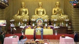 [LIVESTREAM] Lễ Hằng Thuận của cô dâu Thiên Di và chú rể Văn Bình tại Chùa Giác Ngộ