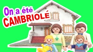 Video STORY TIME - On a été CAMBRIOLE 😫 - Explication & Reconstitution avec les playmobil MP3, 3GP, MP4, WEBM, AVI, FLV November 2017