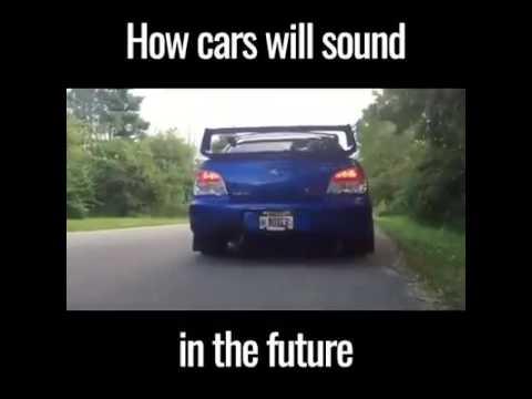 Tak będą brzmieć samochody w niedługiej przyszłości........