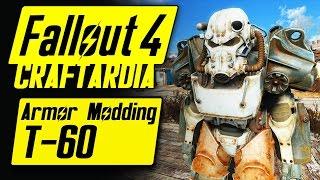 Fallout 4 Power Armor Customization - T-60 Power Armor - Fallout 4 Armor Modding [PC]