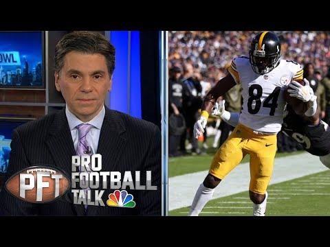 Video: Relationship between Pittsburgh Steelers, Antonio Brown damaged | Pro Football Talk | NBC Sports