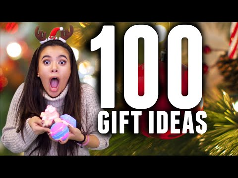 100 CHRISTMAS GIFT IDEAS FOR HER- Girlfriend, Mom, Best Friend