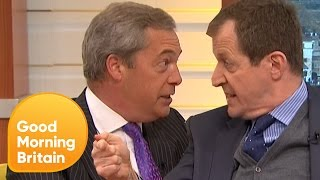 Video Piers Loses Control of Nigel Farage's Brexit Row With Alastair Campbell | Good Morning Britain MP3, 3GP, MP4, WEBM, AVI, FLV Januari 2018