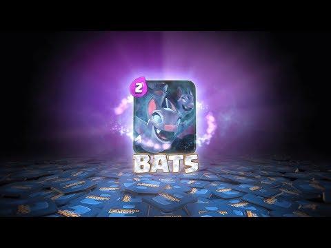 Clash Royale: Introducing Bats [New Card] (видео)