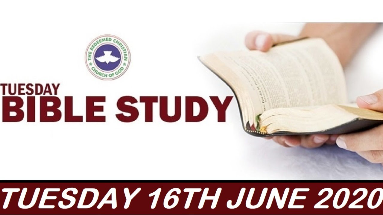 RCCG 16th June 2020 Bible Study with Pastor E. A. Adeboye