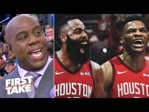 Video: Magic Johnson: The Clippers and Lakers are better than the Rockets | First Take