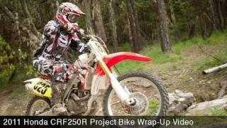 6. MotoUSA Project Bike:  2011 Honda CRF250R Wrap-Up