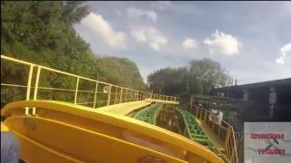 En el vídeo de hoy les traemos  la emoción de estar en la primera fila de una de las montañas rusas mas rápidas de Florida en el parque de diversiones de Busch Gardens.