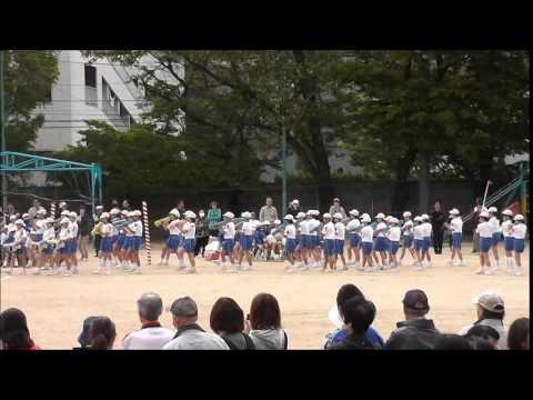2014年 福島市立福島第三小学校130周年記念運動会 6年生鼓笛